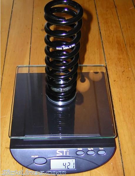 Fox Steel Spring 300 x 3.24 2007