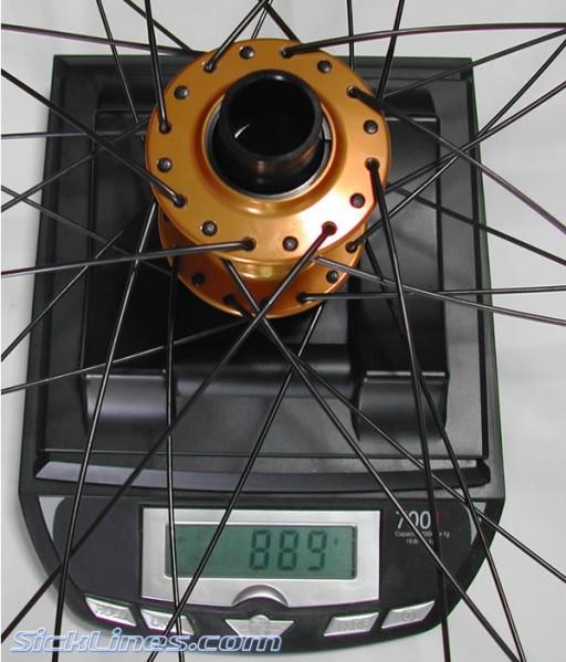 Hope Pro II front wheel 20mm DT EX5.1 Rim 32h Supercomp Spokes DT Brass Nip
