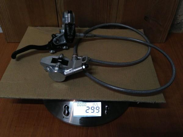 Hope Tech V2 EVO Front Disc Brake 950mm