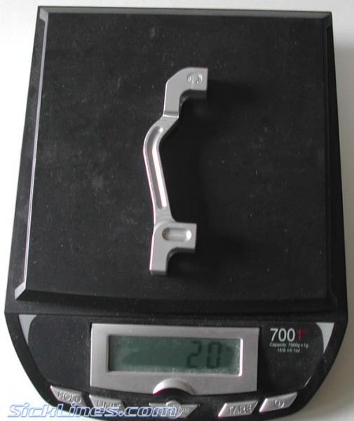 "Front 8"" Post Mount Hope Moto V2 Disc Brake Adapter 2007"