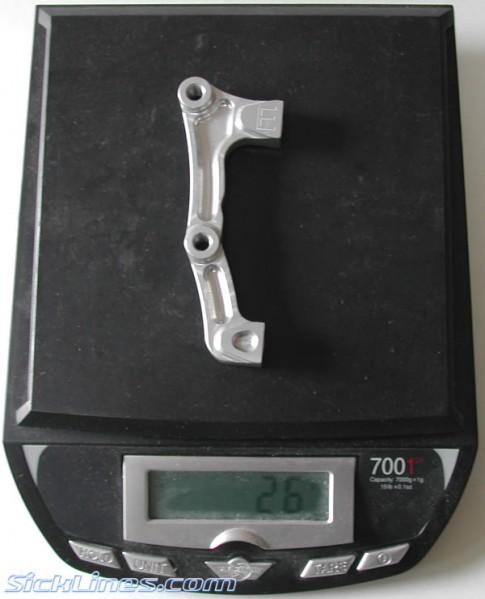 """Fox 40 203mm 8"""" Hope Moto V2 Disc Brake Adapter 2007"""