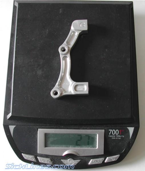 "Rear IS 203mm 8"" Hope Moto V2 Disc Brake Adapter 2007"