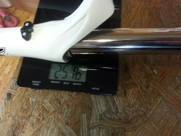 2013 Marzocchi 55 RC3 Evo V2 Titanium 20mm axle uncut steerer Weights