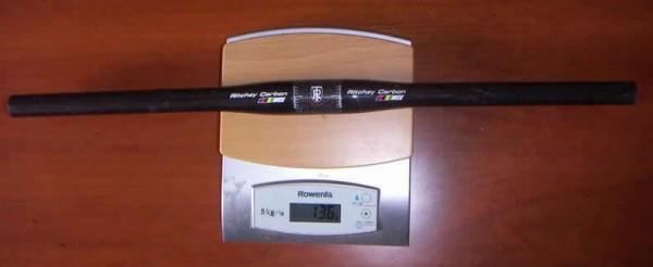 Ritchey WCS Carbon flat handlebar 580mm 31.8mm