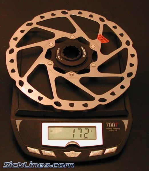 Shimano XT 2008 180mm centerlock disc rotor