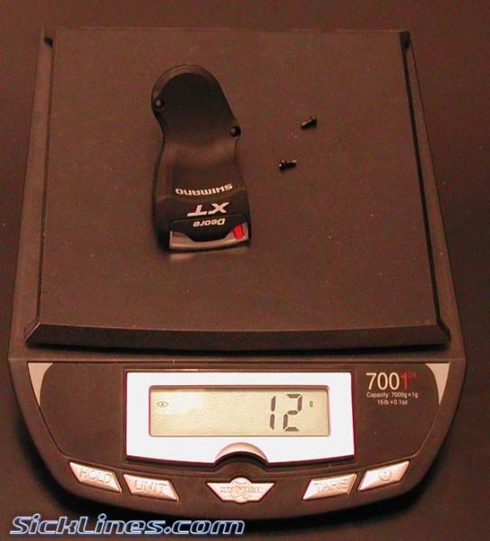 Shimano XT 2008 Optical Gear display