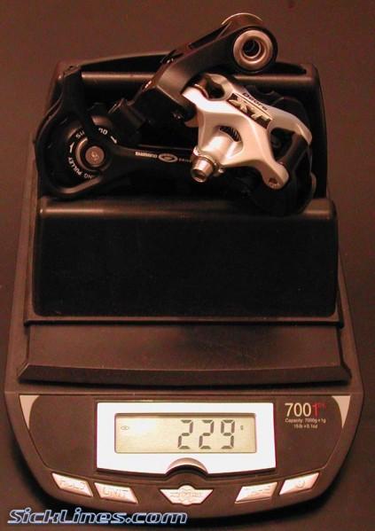 Shimano XT 2008 GS medium cage rear derailleur