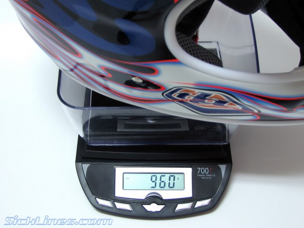 2007 TLD D2 Helmet XL