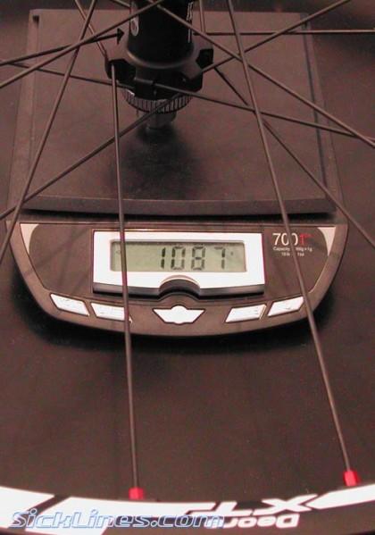 Shimano XT 2008 Rear Disc Tubeless Wheel