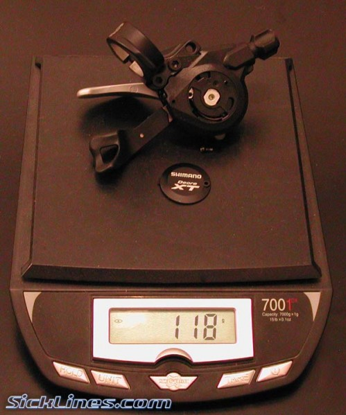 Shimano XT 2008 M770 Rear Shifter No OGD
