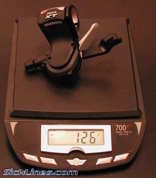 Shimano XT 2008 shifter M770 Front Shifter