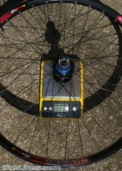 Sun Ringle ADD Lite 150mm x 12mm rear wheel 2009