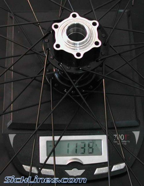 Azonic Outlaw Front wheel (no adapters)