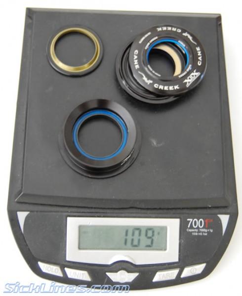 Cane Creek XXC Flush II headset 1.5 to 1.125 flush mount
