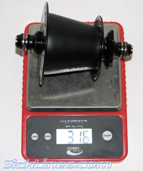 Chub Hub 10mm x 135mm rear