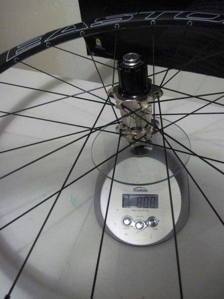 2011 26in Easton Haven Carbon 135x12mm wheel wheelset rear