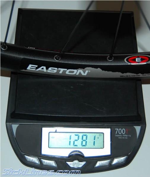 Easton Havoc DH rear wheel