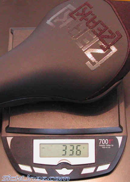 Fi'zi:k Zea:k 7mm Steel Railed Saddle