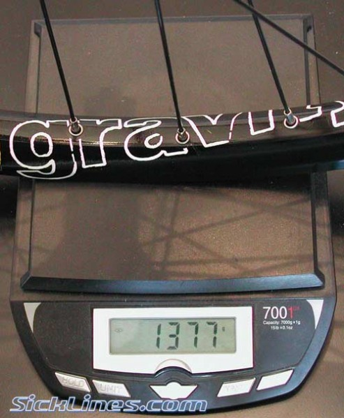 FSA Gravity Wheelset 2008 135mm quick release