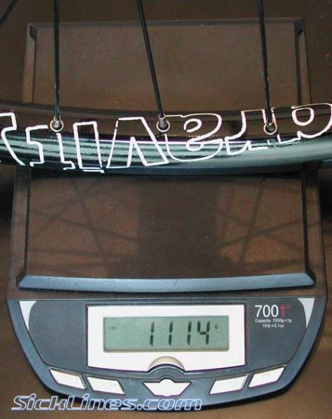 FSA Gravity Wheelset 2008 20mm