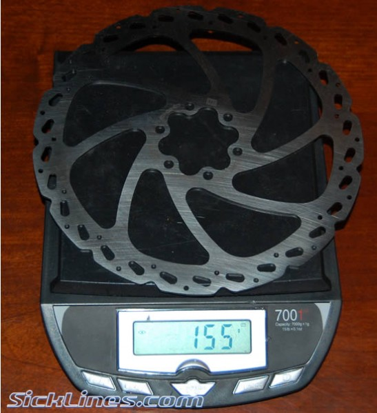 Hayes 180mm V7 Rotor Disc