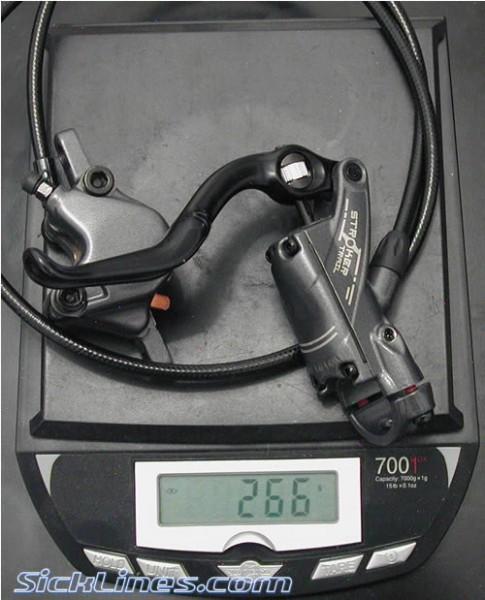 Hayes Stroker Trail Front 2008 Disc Brakes full length hose