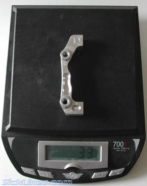 "Hope Boxxer 8"" adapter"
