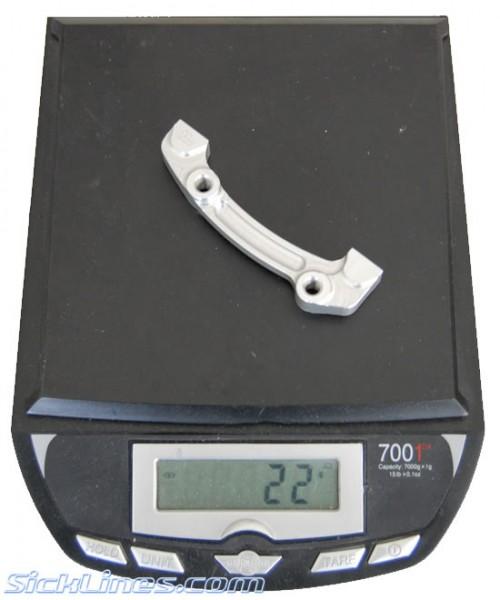 Hope Disc Brake Adapter C 180mm Rear IS 160mm