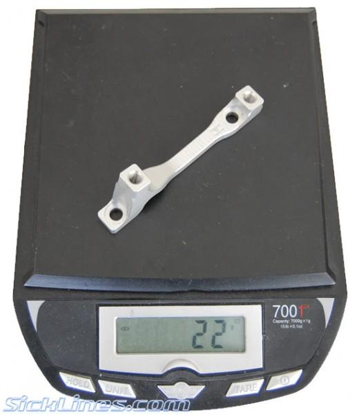 Hope Disc Brake Adapter H 180mm Front Post Mount