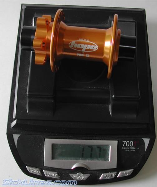Hope Pro 2 II 20mm Front Hub 2007