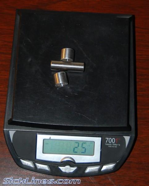 Manitou 40mm x 8mm Shock Hardware