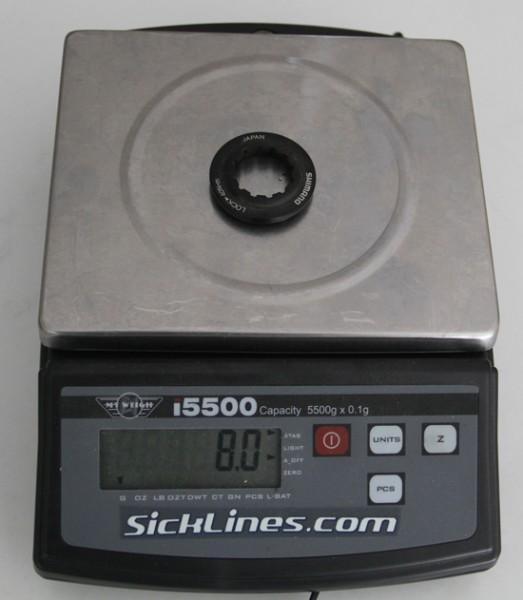 2011 Shimano XTR QR centerlock nut