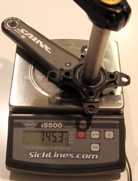 Shimano Saint M815 83mm - 165mm crankarms 2011