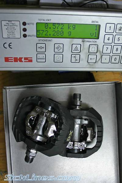 Shimano PD m647 pedals