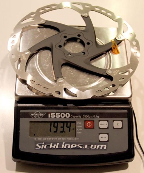 Shimano 203mm 6 Bolt RT76 Disc Rotor 2011