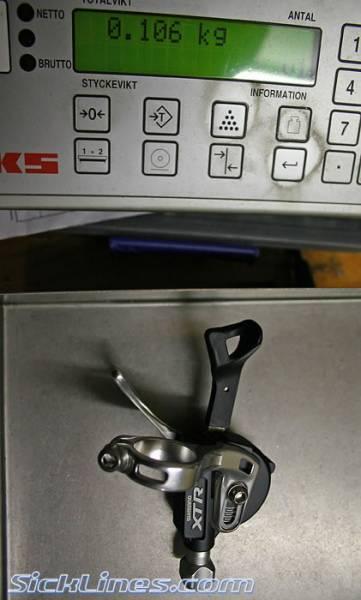 2007 XTR Shimano m970 front shifter