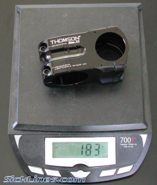 "Thomson X4 1.5"" 45mm 31.8 Stem"