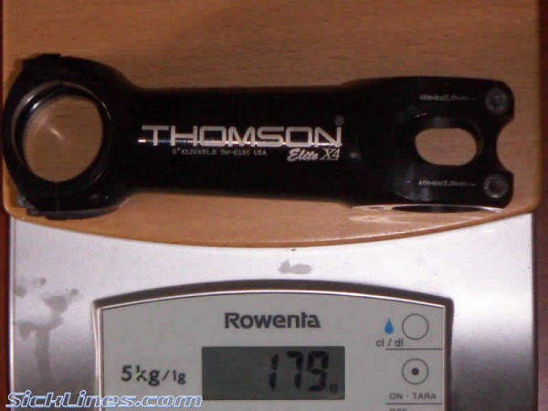 Thomson Elite X4 120mm