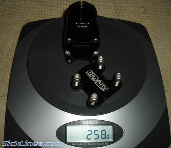 Truvativ holzfeller 1.5 31.8mm 55mm long