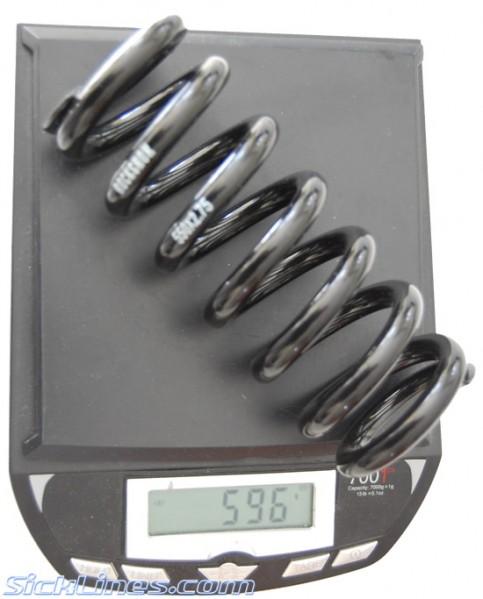 Rock Shox Vivid 550 x 2.75 Spring Steel