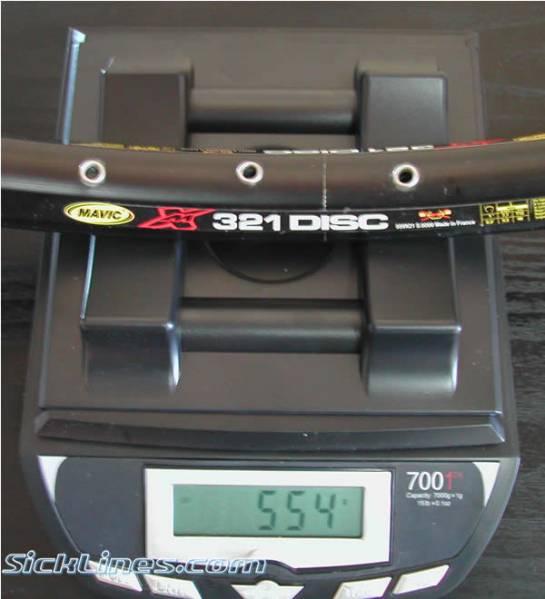 Mavic XM 321 Rim