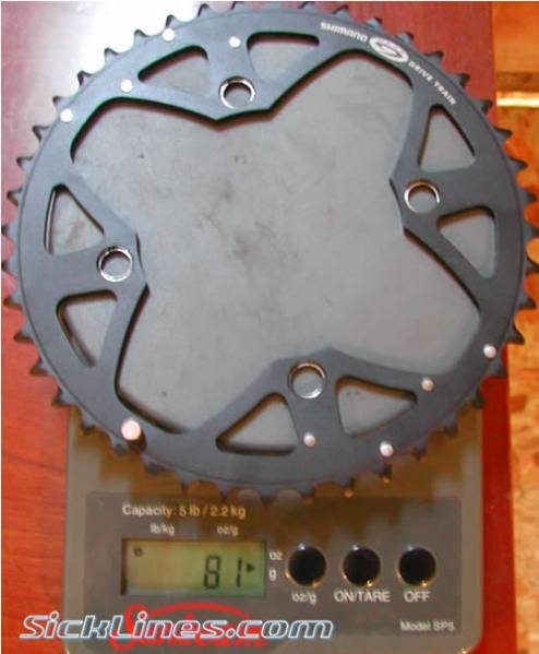 42t shimano xt chainring m760