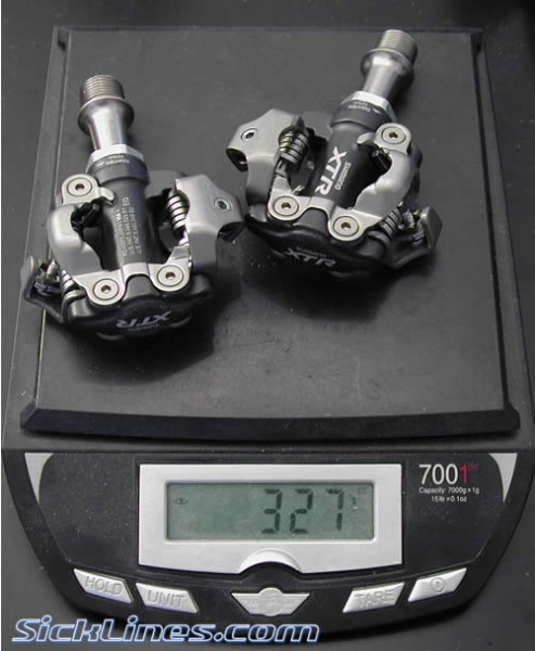 Shimano PD-M970 XTR Clipless pedals