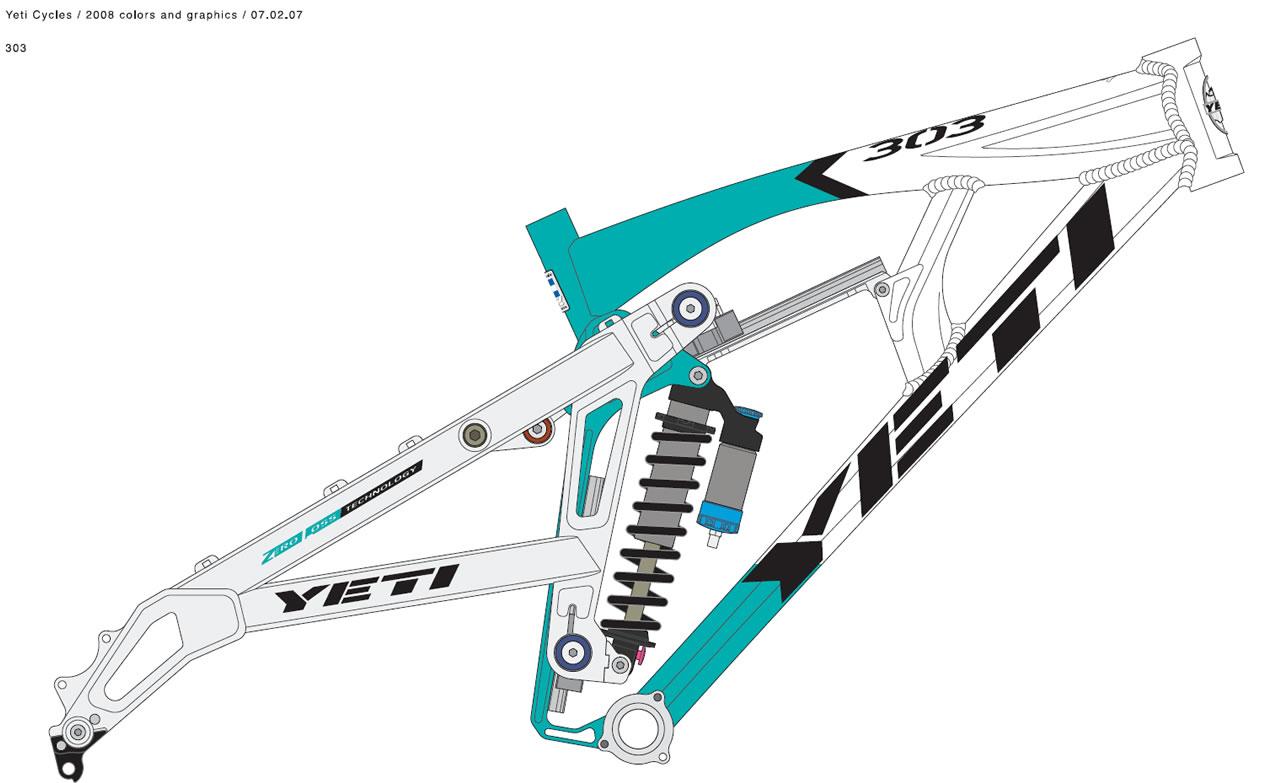 LC4 640 Racer... en 3D !!  - Page 5 Yeti_303_2008
