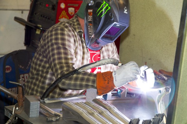 Rick The Welder Intense Cycles 2014 - Temecula facility