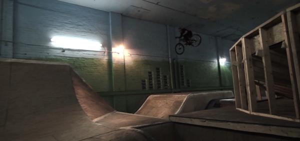 , Cam McCaul and Brett Rheeder Shred Rays CLE Indoor MTB Park