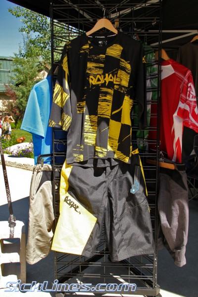 2012 Royal Racing 3/4 length Ride jersey