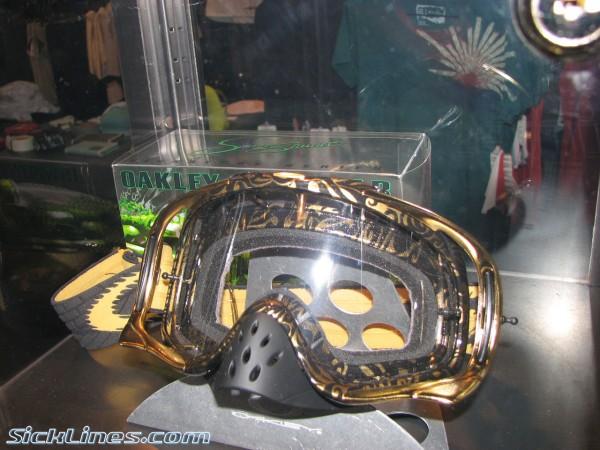 2007 Oakley James Stewart goggle