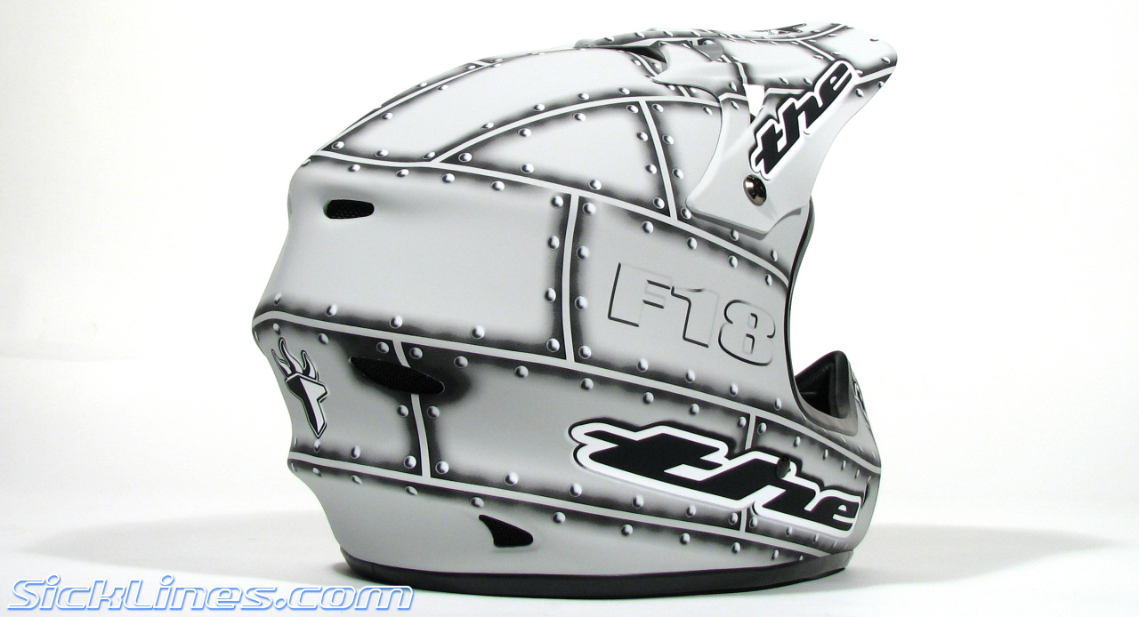 F 18 Helmet THE F-18 Composite hel...