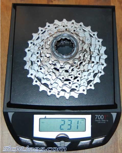 2009 Shimano SLX 11-28t Cassette HG80